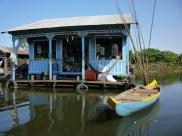 House boat, Cambodia
